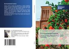 Capa do livro de Environmental Control