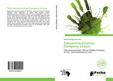 Bookcover of Telecommunication Company of Iran
