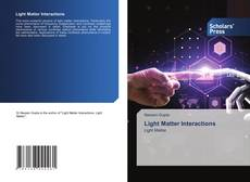 Обложка Light Matter Interactions