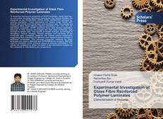 Bookcover of Experimental Investigation of Glass Fibre Reinforced Polymer Laminates