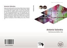 Copertina di Antonio Salandra