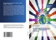 Bookcover of Envisioning Environmental Justice: Critical Essays in Literature