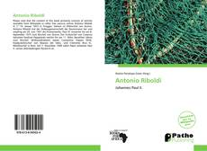 Bookcover of Antonio Riboldi