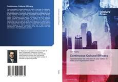 Buchcover von Continuous Cultural Efficacy
