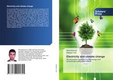 Electricity and climate change kitap kapağı