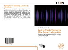 Buchcover von Spring Prairie Township, Clay County, Minnesota