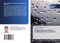 Couverture de Different Methods of Olefin/ Paraffin Membrane Separation