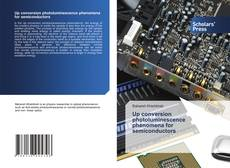 Portada del libro de Up conversion photoluminescence phenomena for semiconductors