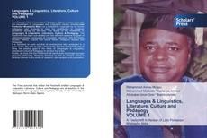 Bookcover of Languages & Linguistics, Literature, Culture and Pedagogy VOLUME 1