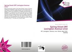 Capa do livro de Spring Street (IRT Lexington Avenue Line)