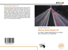 Bookcover of Maine State Route 27
