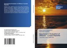 Buchcover von Geochemical Evaluation of Offshore Tsunami Deposits