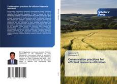 Bookcover of Conservation practices for efficient resource utilization