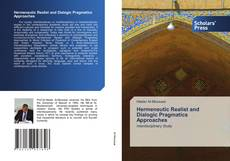 Hermeneutic Realist and Dialogic Pragmatics Approaches kitap kapağı