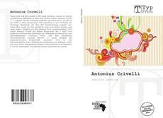 Antonius Crivelli kitap kapağı