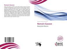 Portada del libro de Romain Gazave