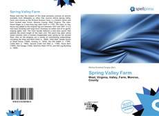 Copertina di Spring Valley Farm
