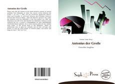 Buchcover von Antonius der Große