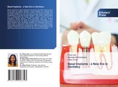 Portada del libro de Basal Implants - a New Era in Dentistry