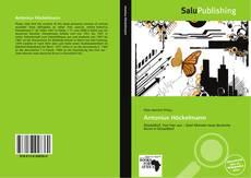Antonius Höckelmann kitap kapağı
