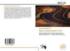 Bookcover of Maine State Route 118