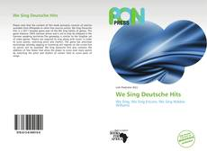 Capa do livro de We Sing Deutsche Hits