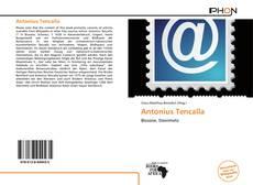 Antonius Tencalla kitap kapağı