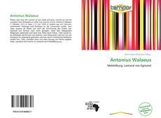 Antonius Walaeus kitap kapağı