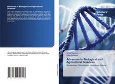 Advances in Biological and Agricultural Sciences的封面