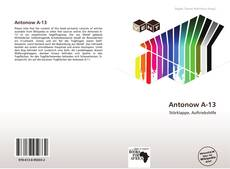 Bookcover of Antonow A-13