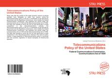 Bookcover of Telecommunications Policy of the United States