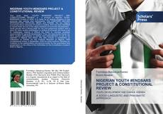 Bookcover of NIGERIAN YOUTH #ENDSARS PROJECT & CONSTITUTIONAL REVIEW