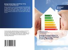 Buchcover von Energy Conservation in Buildings Using Thermal Coating Materials