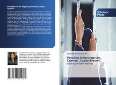 Bookcover of Penalties in the Nigerian Criminal Justice System