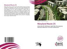 Maryland Route 25 kitap kapağı