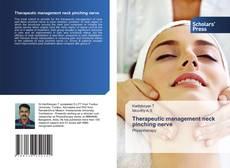 Buchcover von Therapeutic management neck pinching nerve