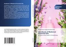 Buchcover von Handbook of Medicinal Essential Oils