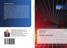 Capa do livro de Analytic geometry