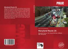 Bookcover of Maryland Route 26