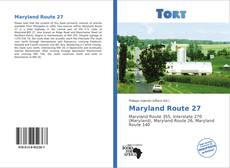Bookcover of Maryland Route 27