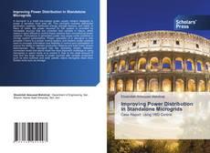 Capa do livro de Improving Power Distribution in Standalone Microgrids