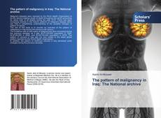 Bookcover of The pattern of malignancy in Iraq: The National archive