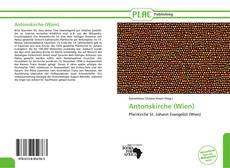 Capa do livro de Antonskirche (Wien)