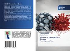 Обложка COVID-19 vaccination in Europe
