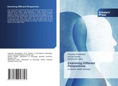 Bookcover of Examining Different Perspectives