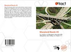 Bookcover of Maryland Route 45