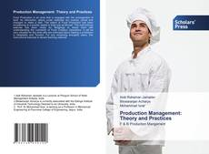Capa do livro de Production Management: Theory and Practices