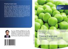Bookcover of Freezing of green peas