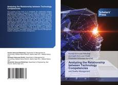 Bookcover of Analyzing the Relationship between Technology Competencies