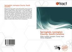 Bookcover of Springdale, Lexington County, South Carolina